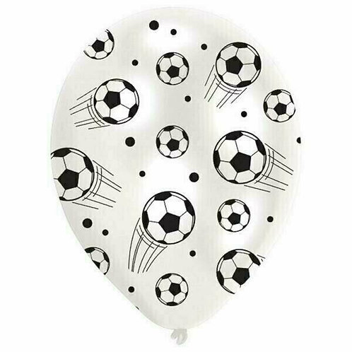 "Latex-Ballon ""Fussball"", Ø 27,5 cm, 6 Stück"
