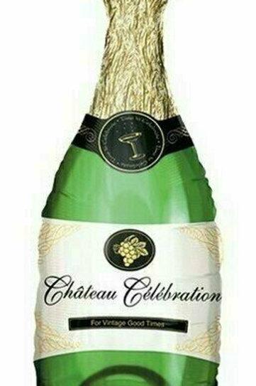 XXL-Ballon Champagnerflasche