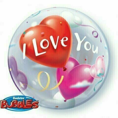 "Bubble Balloon ""Love You"""