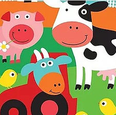 """hier finden Sie Dekorations-Accessoires zum Thema """"Bauernhof"""""""