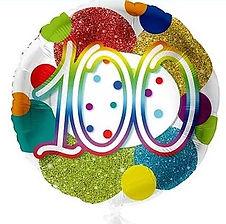 Dekoration zum 100. Geburtstag
