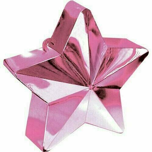 """Ballongewicht """"Stern"""" in rosa"""