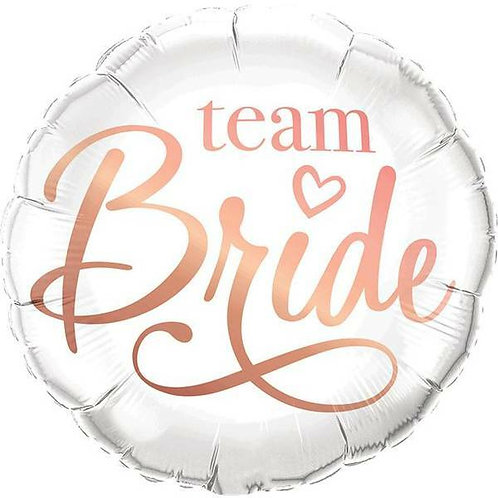 "Folien-Ballon ""Team Bride"""