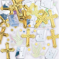 Hier finden Sie Dekorations-Accessoires zur Kommunion und Konfirmation