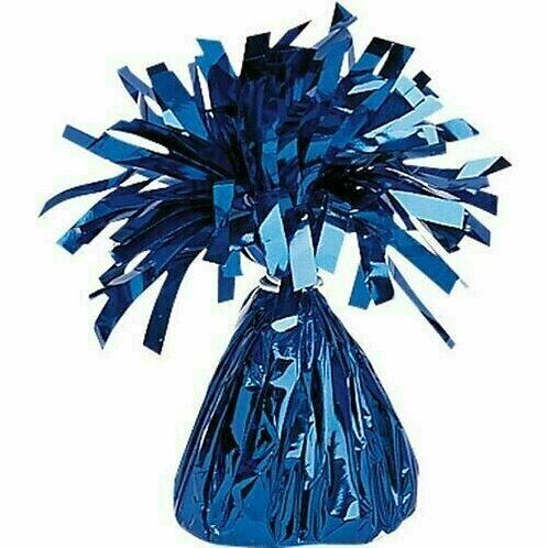 Foliengewicht in dunkelblau