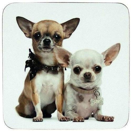 "Untersetzer ""Chihuahua"", 6er Set"