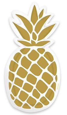 Formteller Ananas