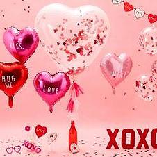 Hier finden Sie Dekorations-Accessoires zum Thema Liebe, Verlobung und zum Valentinstag