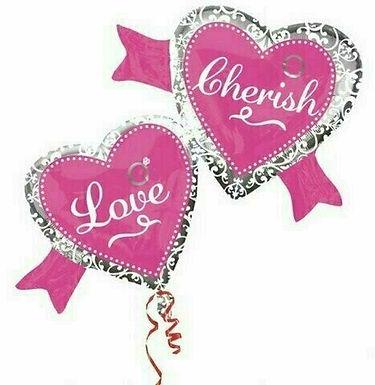 "XXL-Ballon ""Cherish Love"""