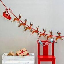 Ein schön geschmücktes Weihnachtsfest erfreut jedes Ayuge