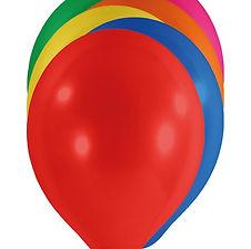 Hier erhalten Sie Latexballons in vielen verschiedenen Farben