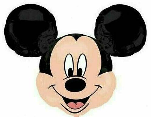 XXL-Ballon Mickey Mouse Kopf