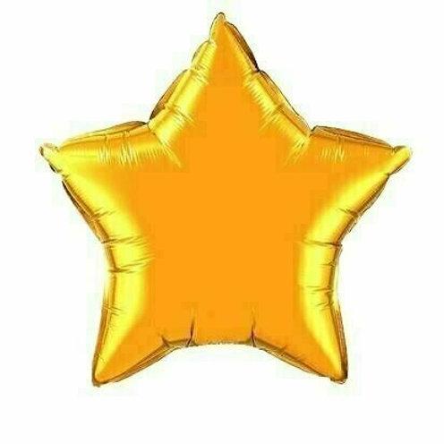 Sternballon / gold