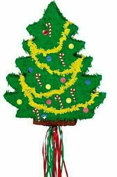 Zieh-Pinata Weihnachtsbaum