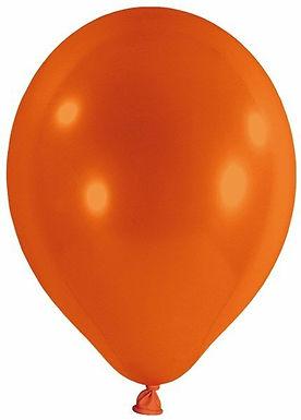 20 Latex-Ballons, Standardfarbe: orange