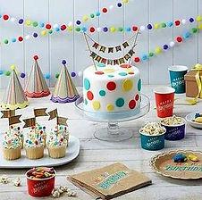 Allgemeine Geburtstagsdekoration