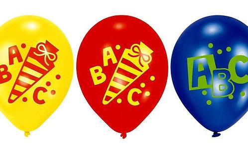 "Latexballon ""ABC"" zum Schulanfang"
