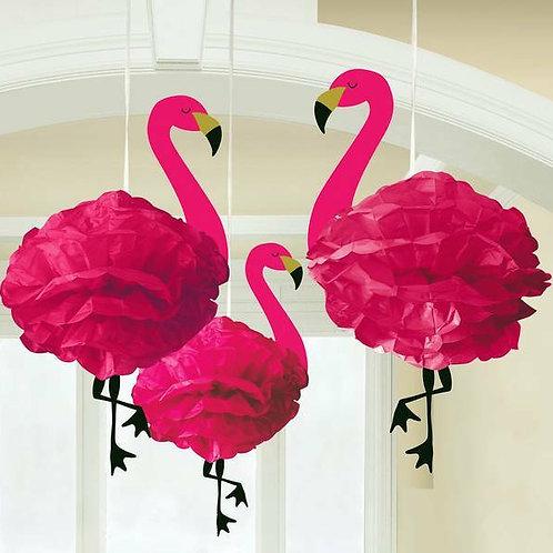 """PomPoms """"Flamingo"""""""