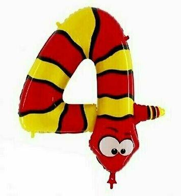 Ballons / Zahlen-Ballons / Animaloons