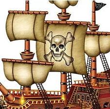 """Hier finden Sie Dekorations-Accessoires zum Thema """"Piratenparty""""Pirat.jpg"""