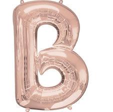 Riesen Buchstabenballons mit Heliumfüllung