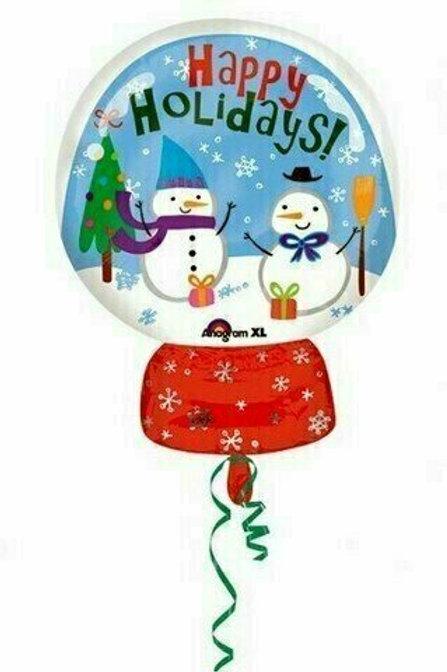 Juniorshape-Ballon Schneekugel