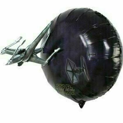 XXL-Ballon 3D-Ballon mit aufgesetztem Fighter