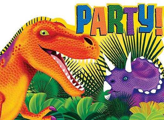 Themenparties und saisonale Anlässe / Dinosaurier