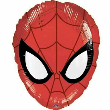 "Folienballon ""Spiderman-Maske"""