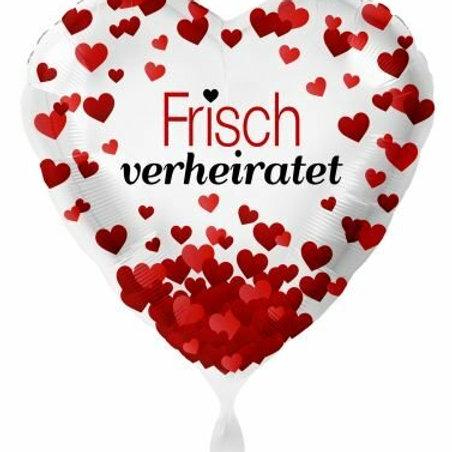 """Folienballon """"Frisch verheiratet"""""""
