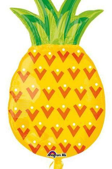 "XXL-Folienballon ""Ananas"" (gelb)"
