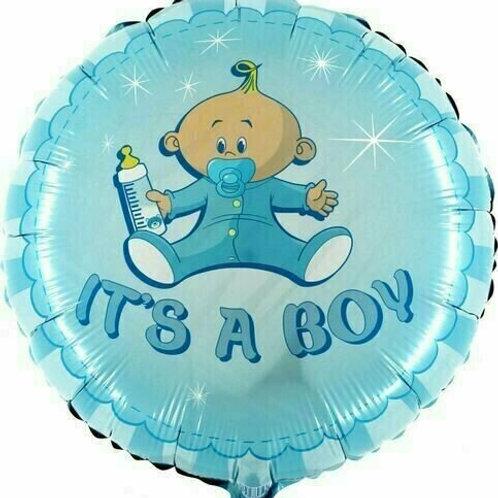 """Folienballon """"Schnuller-Baby Boy"""""""