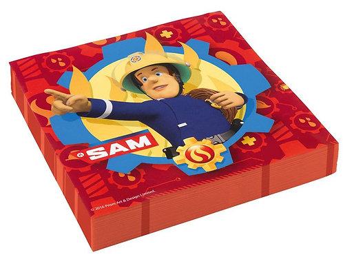 Servietten Feuerwehrmann Sam