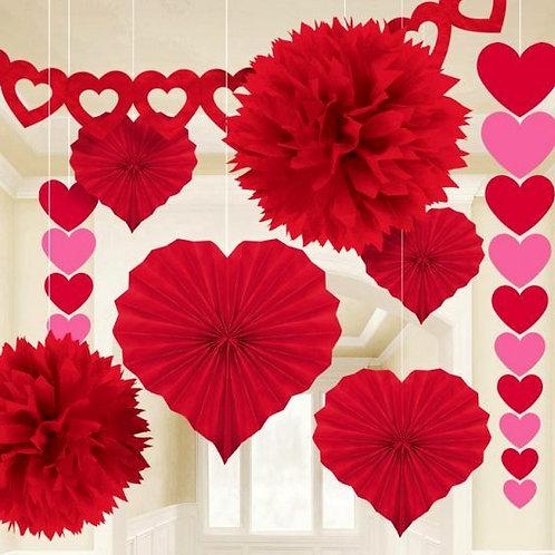 Dekorations-Set zum Valentinstag