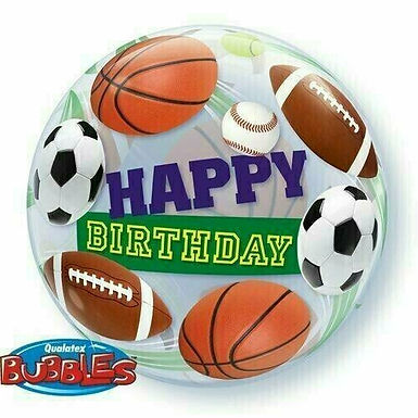 """Bubble Balloon """"Happy Birthday Bälle"""""""