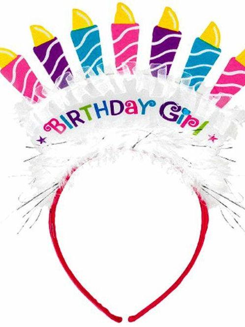 Haarreif Birthday Girl