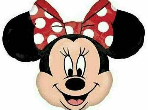XXL-Ballon Minnie Mouse Kopf