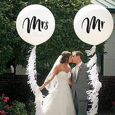 Dekorations-Accessoires für Ihre weisse Hochzeit, Dirndlhochzeit und Trachtenhochzeit