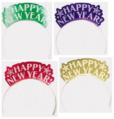 """Haarreif / Krönchen """"Happy New Year"""""""