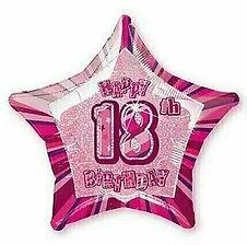 Dekoration zum 18. Geburtstag