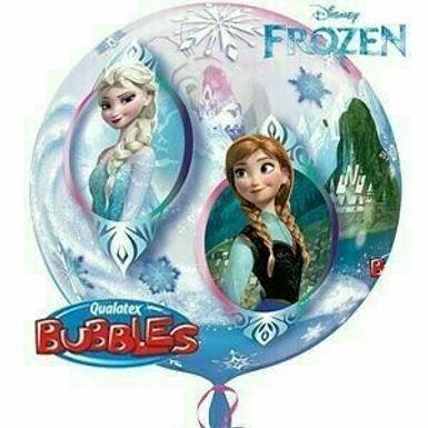 "Bubble Ballon ""Frozen"""