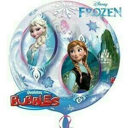 "Bubble Ballon ""Frozen"""