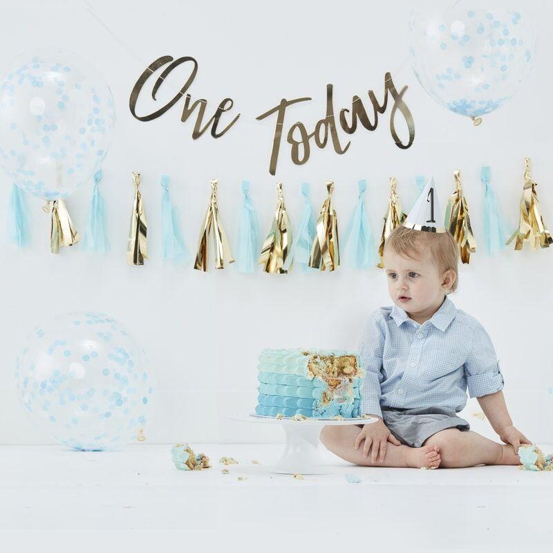 Dekorationsideen zum ersten Geburtstag