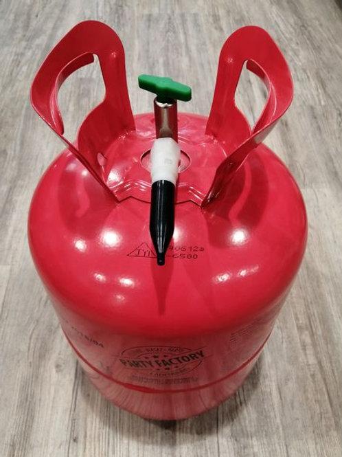 1x Helium (Ballongas) Druckgas-Einwegflasche für bis zu ca. 30 Ballons