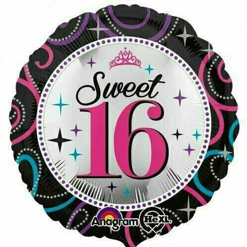 "Foloienballo ""Sweet Sixteen I"""