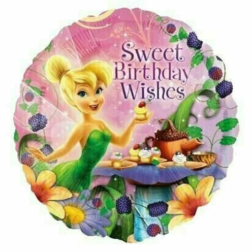 Folienballon Birthday Tinkerbell