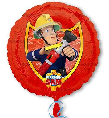 Folienballon Feuerwehrmann Sam