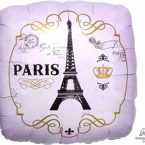 Folienballon Paris
