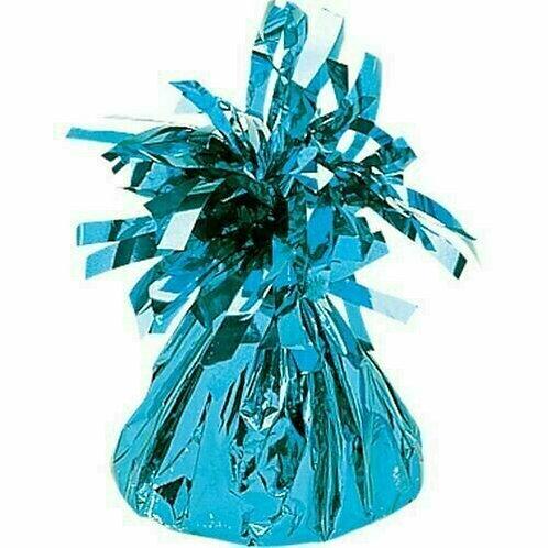 Foliengewicht in hellblau