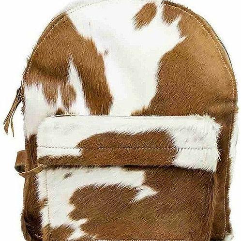 Rucksack aus Kuhfell